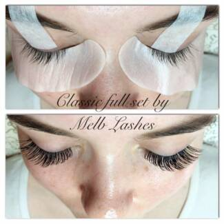 Perfectly applied eyelash extensions from experienced tech. North Melbourne Melbourne City Preview