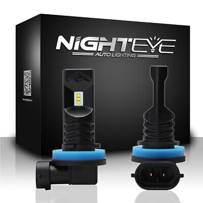 Nighteye H11 H8 H9 80W LED Nebel Scheinwerfer Birne Kit Auto Leuchte Lampen Weiß online kaufen