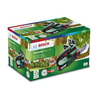 Bosch 18V Akku Kettensäge UniversalChain18 | 1x Akku 2,5 Ah