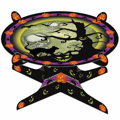 25Cm Haunted Halloween Creepy Tree Pumpkin Cats Card Party Cake Stand](Creepy Halloween Cakes)