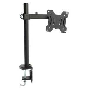 1 LCD Monitor Arm Stand Desk Table Mount Fully Adjustable PC Computer 13 - 27