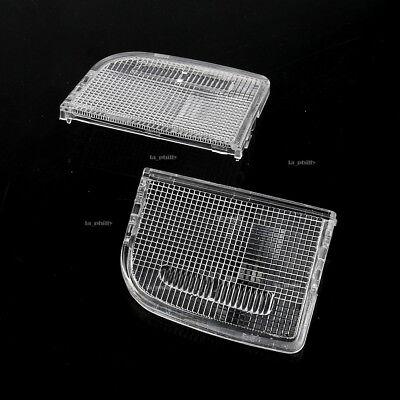 Set of 2 Overhead Dome Light Lamp Lens Left Right For TSX Accord Civic Crosstour Dome Light Lens