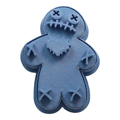 Cortadores De Galletas Halloween (Cuticuter Halloween Voodoo Cookie Cutter Vudu Cortador de Galletas)