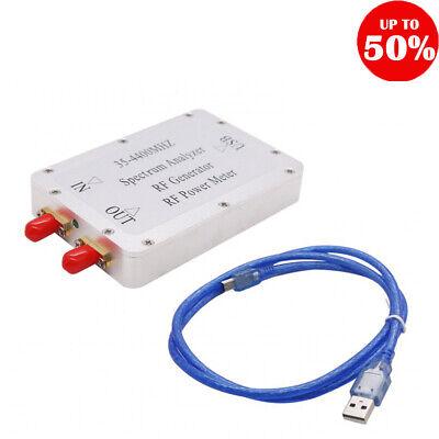 35-4400mhz Usb Spectrum Analyzer Rf Power Meter Signal Generator Tracking-source