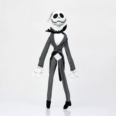 Disney The Nightmare Before Christmas Jack Skellington Doll Poseable Plush Toy
