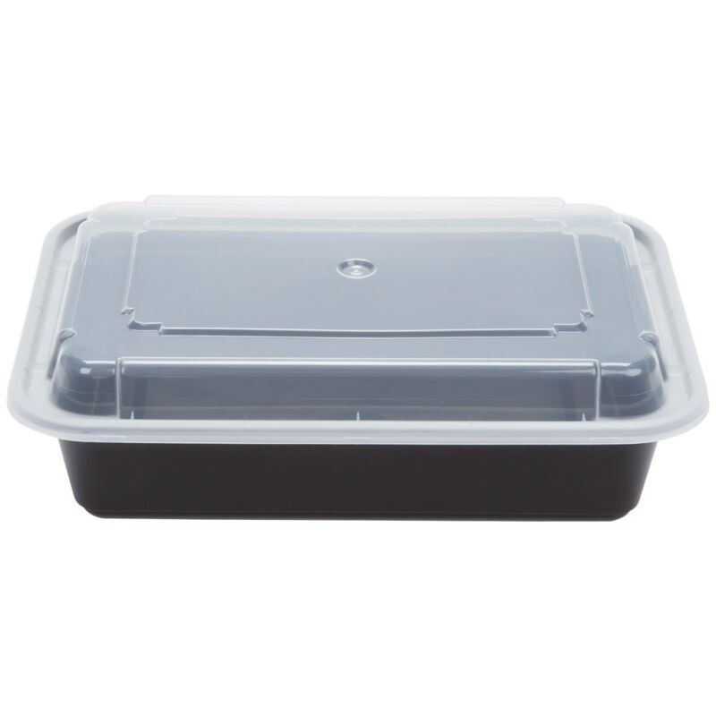 Pactiv Newspring Versatainer PP Premium Meal Prep Container 38 oz | 150/Case