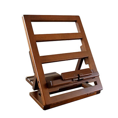 Wooden Portable Book Holder Stand Made in Japan / TOYOOKA CRAFT / MC002006