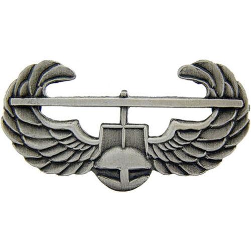 Air Assault Regulation Breast Badge Silver Oxidized