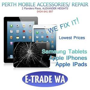 IPhones and IPad Repairs + 3 months Warranty Alexander Heights Wanneroo Area Preview