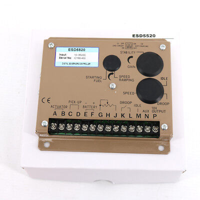 New Engine Governor Speed Control Esd5520 Speed Controller