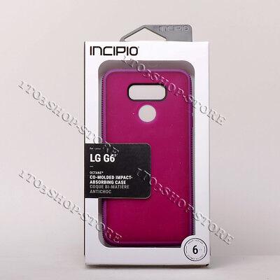 Incipio Octane LG G6 Shockproof Hard Shell Snap Cover Case Raspberry Pink Purple