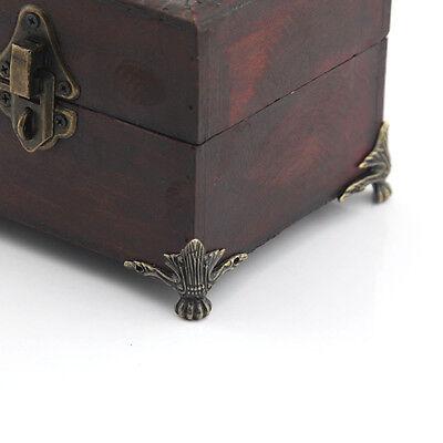 8pcs Decorative Antique Zinc Tiger Claw Metal Box Feet Leg Corner Protector