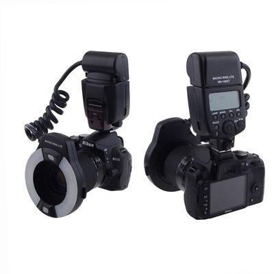 MEIKE MK-14EXT Anillo Flash DSLR Nikon Macro Odonto i-Ttl Af N° 7...