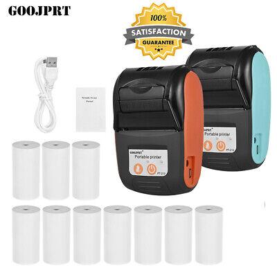 GOOJPRT Mini Wireless Bluetooth Thermodrucker 58mm USB POS Printer