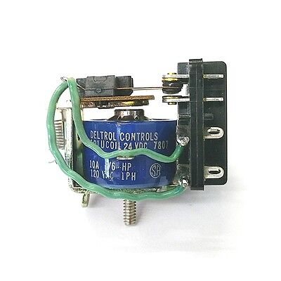 New Deltrol 20072-82 24 Volt Dc Coil 10 Amp 101u 3pdt General Purpose Relay