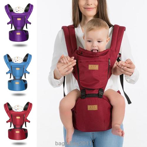 e274b0a5a31 New Baby Carrier Kids Toddler Newborn Waist Hip Seat Wrap Belt Sling  Backpack UK