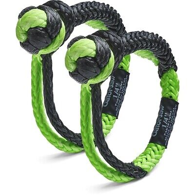 """Bubba Rope 1/4"""" Mini Gator Jaw Synthetic Shackle 11000 Pound Breaking Strength"""