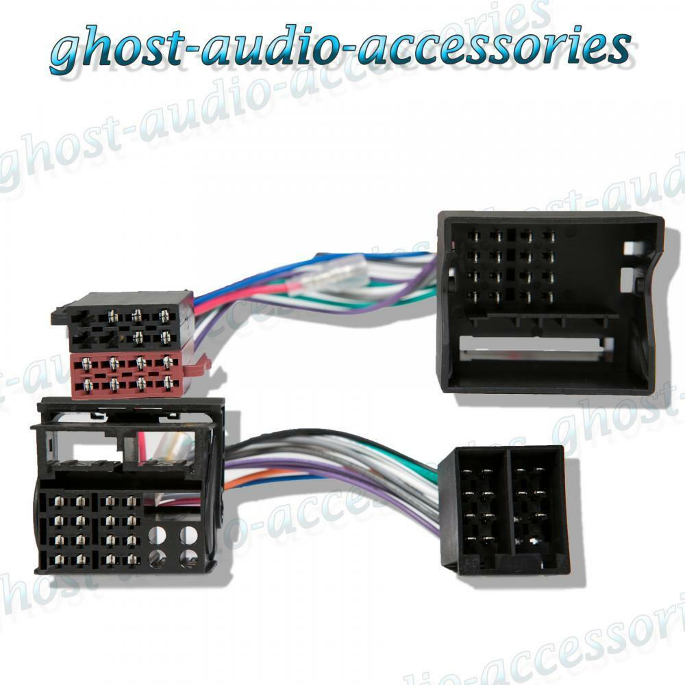 Ford Galaxy 00 Parrot Bluetooth manos libres Kit de Coche T-Arnés CT10FD01 Sot Plomo