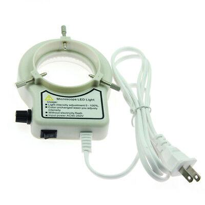 Quality 144 Led Ring Light Illuminator For Stereo Microscope Camera 6000k Us