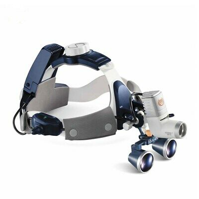 5w Led Surgical Head Light Medical All-in-one Headlight Lamp 2.5x Magnifier