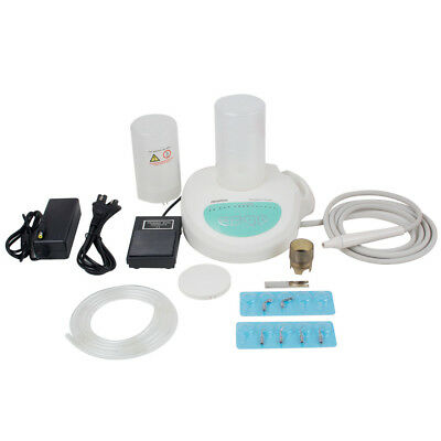Portable Dental Ultrasonic Piezo Scaler Contain Bottles Handpiece Tips Fit Ems