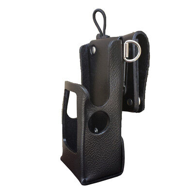 Case Guys Mr8606-3awd Hard Leather Holster For Motorola Apx 6000 8000 Radios