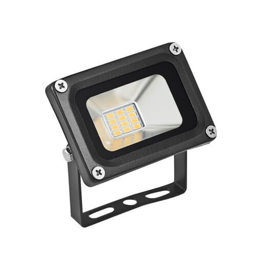 Warm White 10W LED Security PIR Sensor Floodlight Outdoor Walkway Spotlight IP65