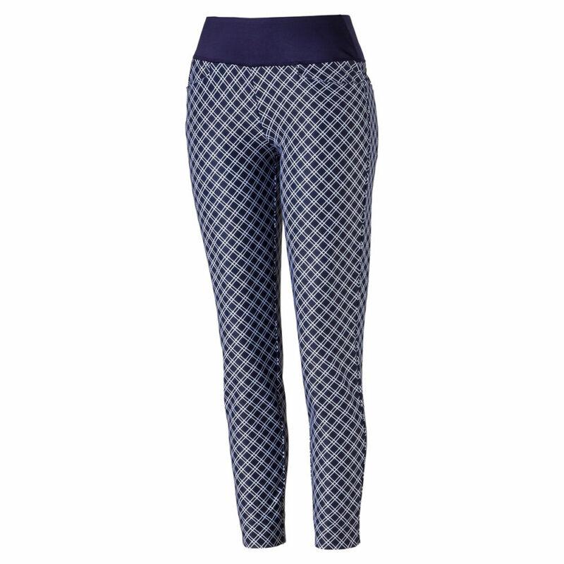 PUMA Ladies PWRSHAPE Checker Pants