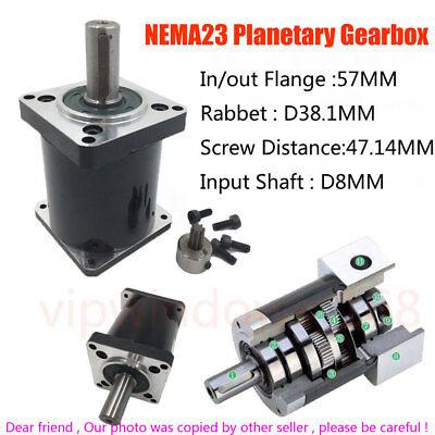 Nema23 Planetary Gearbox Speed Reducer 51 101 151 201 301 401 501 1001