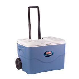 Coleman Xtreme wheeled cooler box 50qt