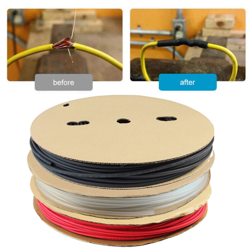 Waterproof Heat Shrink Tubing 3:1 Dual Wall Wire Cable Wrap Adhesive-Lined 10 Ft