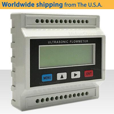 Tuf-2000m Ultrasonic Flow Meter With Transducers Ts-2 Pipe Size 0.78 To 3.9