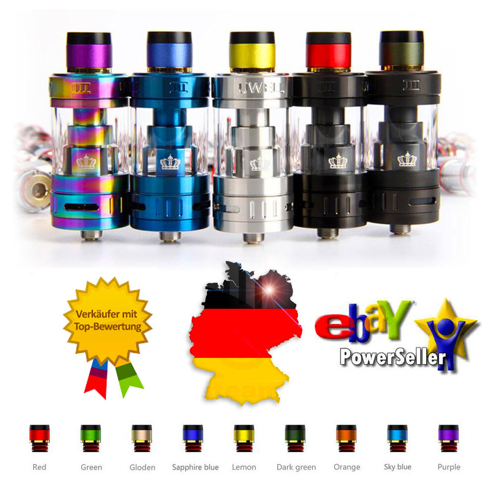 Uwell Crown 3 III 5ml Tank, Clearomizer, Atomizer, Verdampfer, Vape NEU & OVP