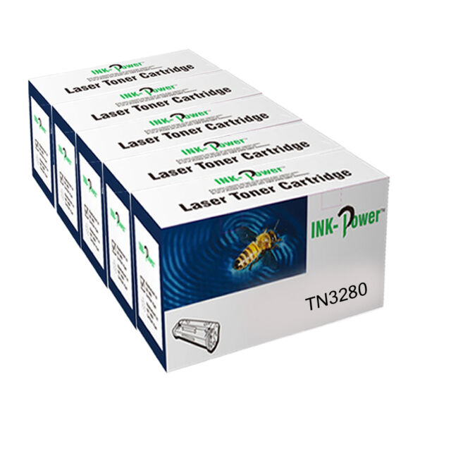 5 Black Toner For Brother TN3130 HL5280 HL5280DW DC P8060 P8065DN TN3130