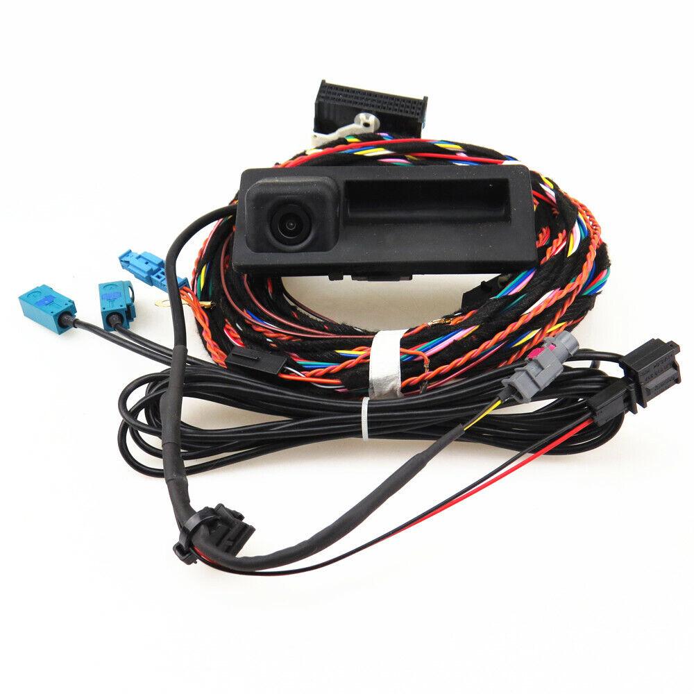 12V RGB Rear View Reverse Camera Plug Harness Cable for VW Tiguan Audi A6  RCD510   eBayeBay