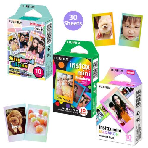 Fujifilm Instax Mini Film 30 Sheets Fuji Instant 8 9 50s 70 90 Camera Photos US