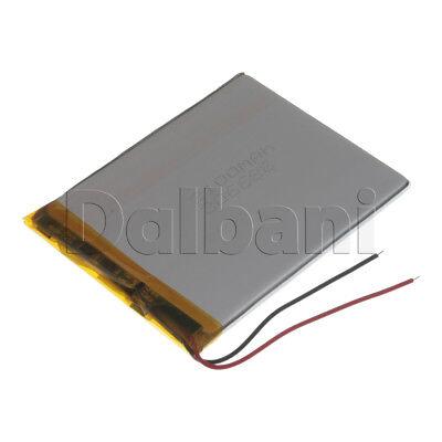 New 3.7V 2100mAh Internal Li-ion Polymer Built-in Battery 85x66x3mm 29-16-0646