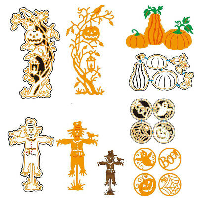 Halloween Witch Pumpkin For DIY Greeting Card Metal Embossing Cutting Dies - Pumpkins For Halloween Carving