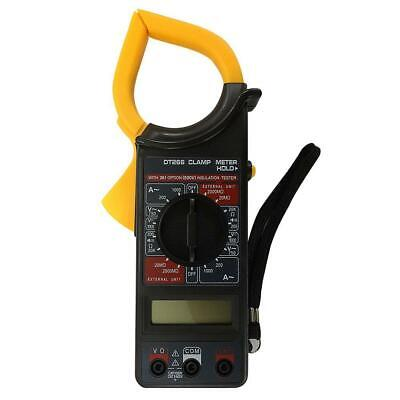 Lcd Digital Clamp Meter Multimeter Ac Dc Volt Amp Resistance Tester Clamp Useful