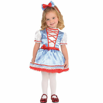 The Wizard of Oz Baby Dorothy Halloween Costume Girls Infant 0-6M  6-12M 12-24M