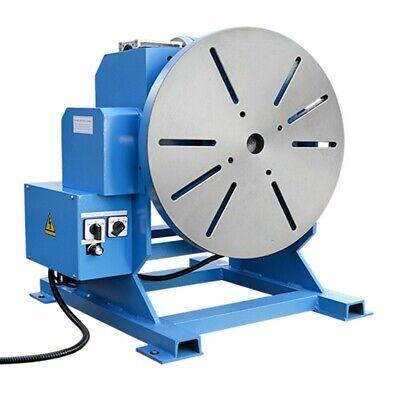 550-1100 Lbs Cap. Welding Positioner Turn Rotary Table Tilt 0-45-90 Degree 110v