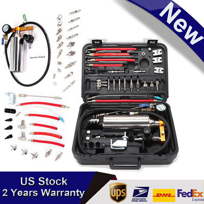 Car Petrol Injector Cleaner&Tester Non-Dismantle Fuel System Clean Tool +Adapter