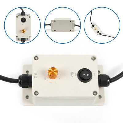 Variable Speed Controller Ac Vibration Motor Governor W Switch 220v110v Usa
