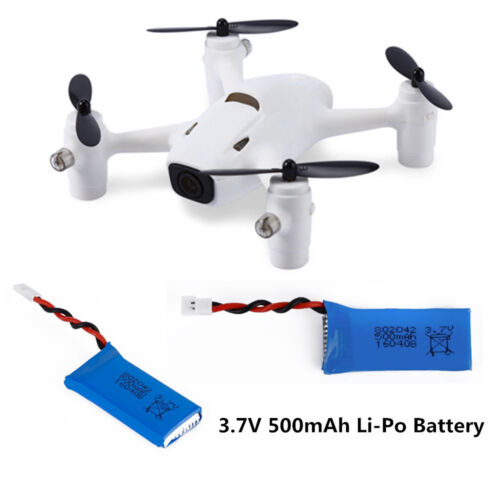 3.7V 500mAh LiPo Battery For Hubsan X4 H107 H107L/C/D V252 JXD 385 RC Drone