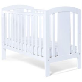 baby elegance childs cot , this cot is solid built and 3 height adjustible in good condition.