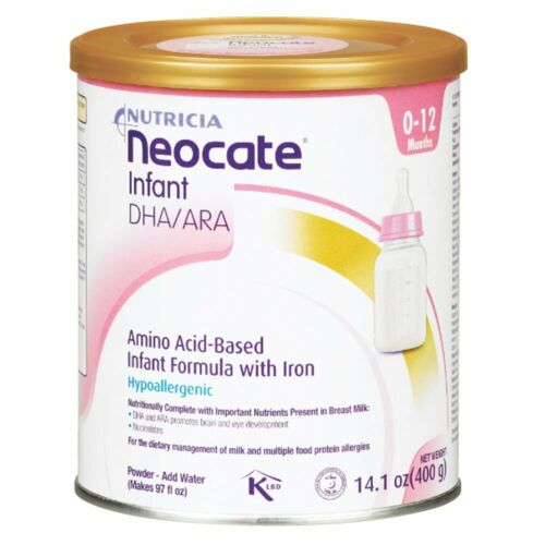 4 cans NEOCATE INFANT DHA/ARA powder formula Free Shipping