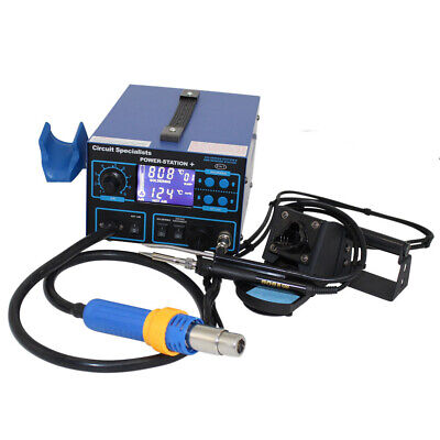Circuit Specialists Deluxe Hot-air Station - Soldering Iron Etc