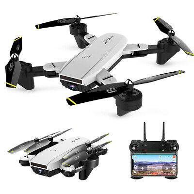 SG700-D Drone Wifi FPV Follow Me Altitude Hold Foldable RC Quadcopter [4K Black]