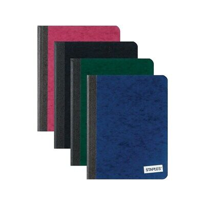 Staples Composition Notebook 9.75 X 7.5 College Ruled 100 Sh. Assorted 716613