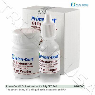 Radiopaque Glass Ionomer Restorative Cement Kit Self Cure Gi Restorative 010-060
